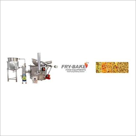 Circular Fryer With Heat Exchanger