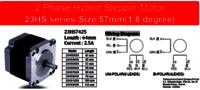 Stepper motor 23HS7425
