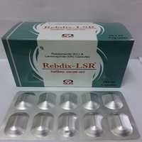 Rebeprazole Sodium 20 mg EC + Levosulpride 75 mg  SR