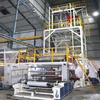 Three-Layer Coextrusion Heavy Duty Blown Film Line