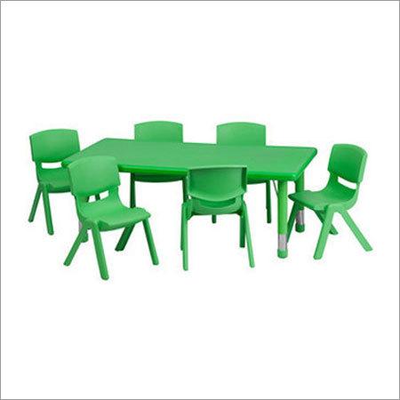 Plastic Nursery Table Set