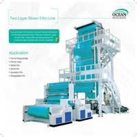 3-Layer Co-Extrusion Blown Film Rotary Die Extruder/Blown Film Machine/Plastic Film Blowing Machine