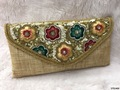 Fancy Embroidered Ladies Clutch Bag