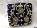 Traditional Designer Box Clutch
