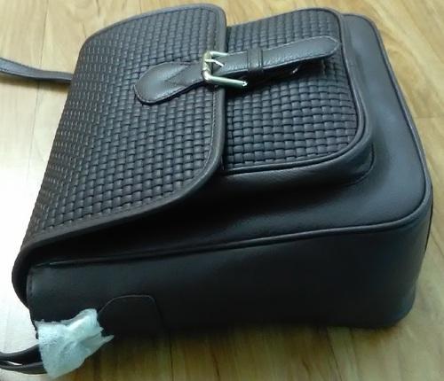 Cross body designer handbag