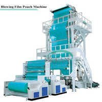 HD / LDPE Film Blowing Machine Unit