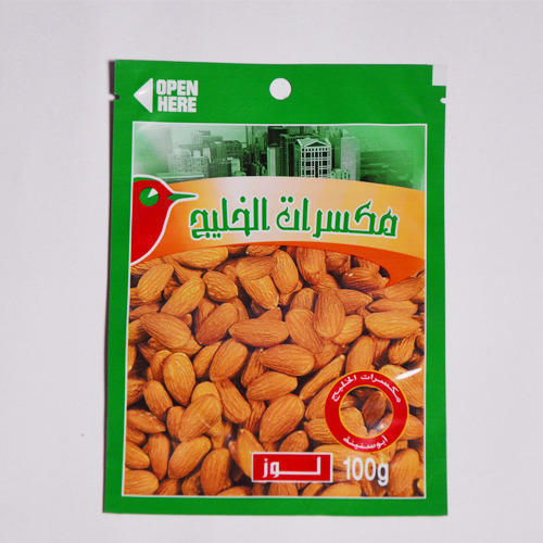 Laminated Almond Bag