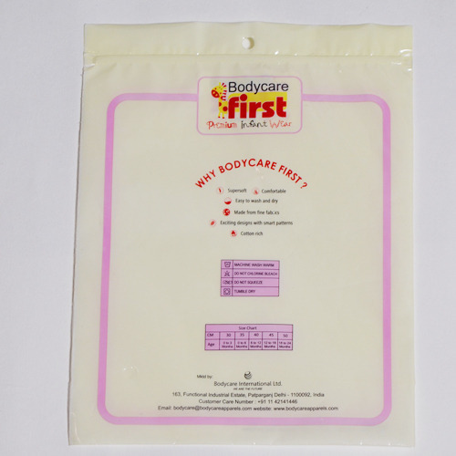 Laminated Body Care BOPP Bag
