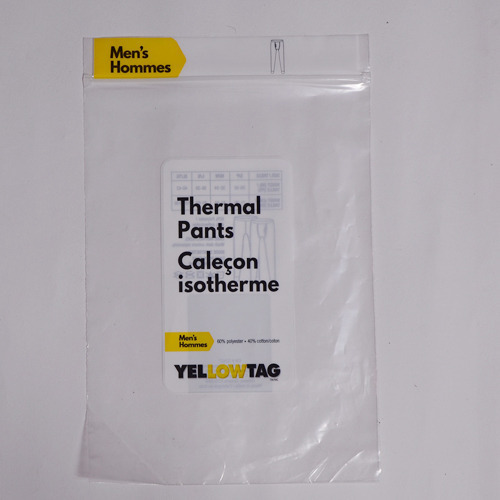 Thermal Pants Laminated Bag