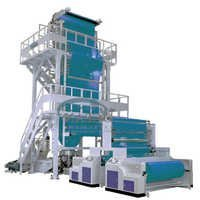 plastic blow film making machine