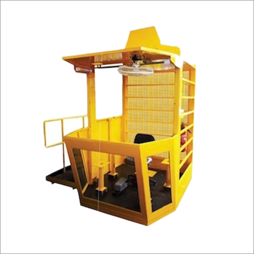 Open Crane Cabin