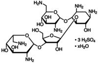 Gentamicin sulfate salt hydrate