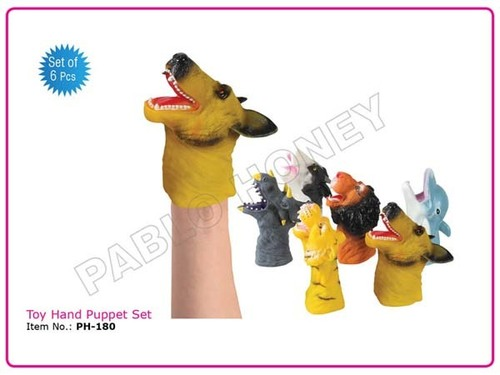 Toy Hand Puppet Set
