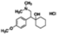 Venlafaxine hydrochloride solution