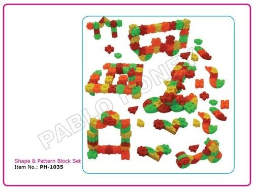 Shape & Pattern Block Set