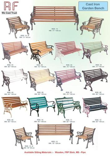 Garden Benches Sitting Wood