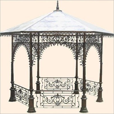 Decorative Hexagonal Gazebo