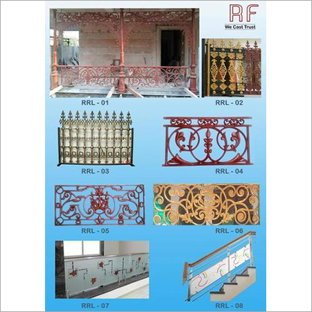 Cast Iron Balcony & Boundary wall Railing