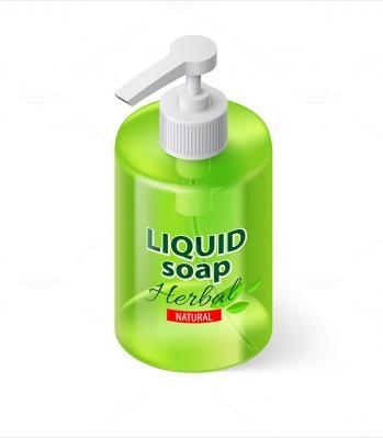 liquid soap Labels
