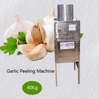 40 Kg Garlic Peeling Machine