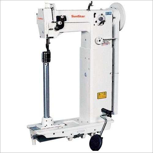 High Slim Post Bed, 1-Needle Unison Feed Lock Stitch Machine
