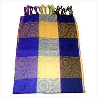 Check Printed Woolen Stole