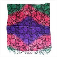 Multi Colored Floral Stole