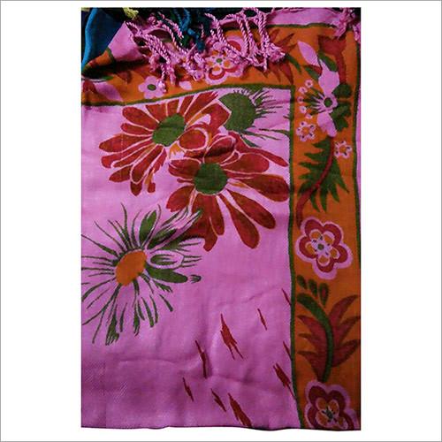Flower Print Stole