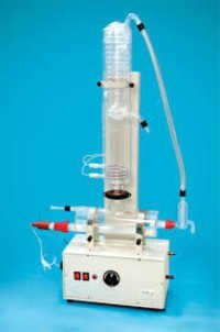 ALL QUARTZ DOUBLE DISTILLATION (HORIZONTAL MODEL)