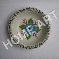 Iron Decorative Plate Painted