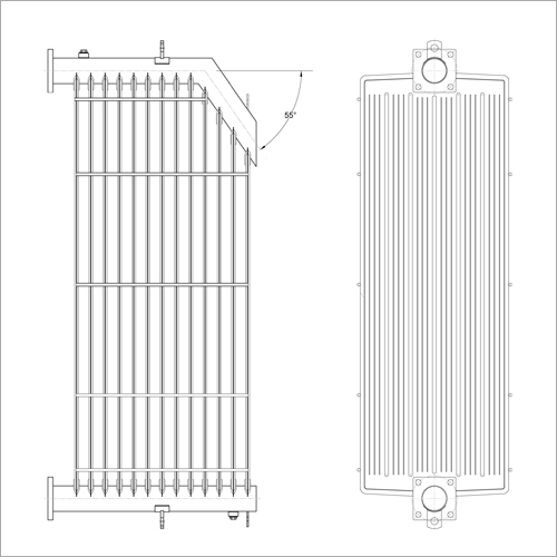 Graded  Type Radiator-Model