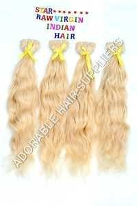 Blonde Weft Hair Extensions