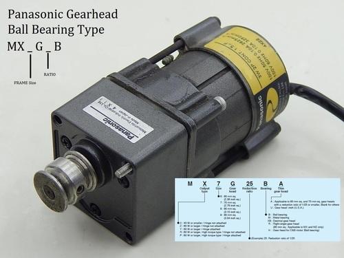 GearHeadMX6G3B Panasonic
