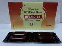 Bolus Ofloxacin IP 1000 MG + Ornidazole IP 2500 MG