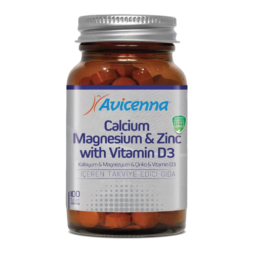 Calcium Magnesium Zinc Tablet Dietary Supplements