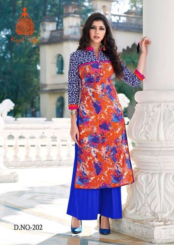 Kajal Style Online Kurtis