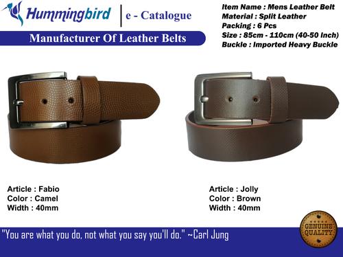 leather belt mens