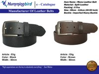 pure leather belts for men
