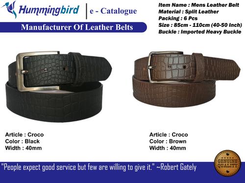 mens stylish belts