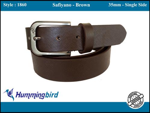 black formal belt
