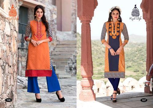 Kajal Style kurtis catalog