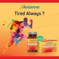 Ginseng Capsule Herbal Medicine POWMAX