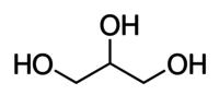 Glycerol (85 per cent) - reference spectrum