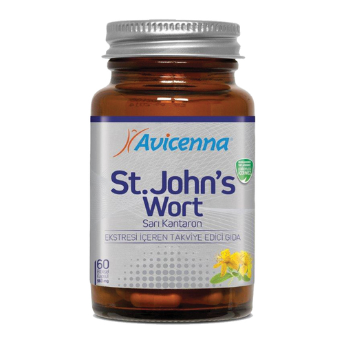 St John's Wort capsule nutritional supplements