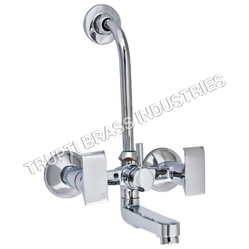 Brass 2 in 1 Wall Mixer