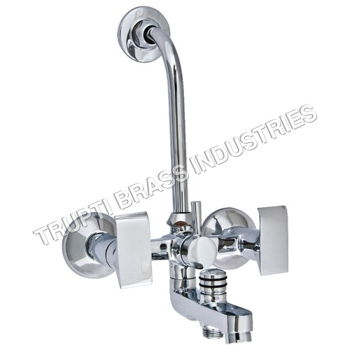 Brass 3 in 1 Wall Mixer