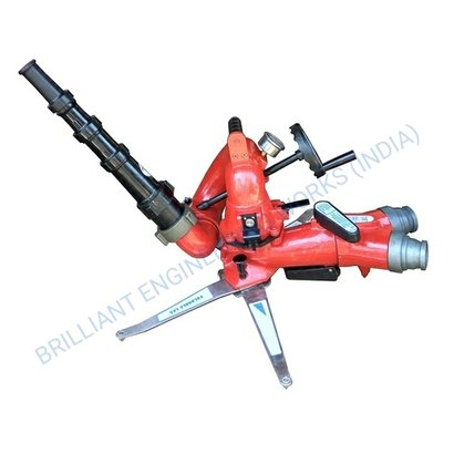 Portable Ground Water Monitor With Stackable Nozzle Application: Fire Extinguisher And Hydrant System