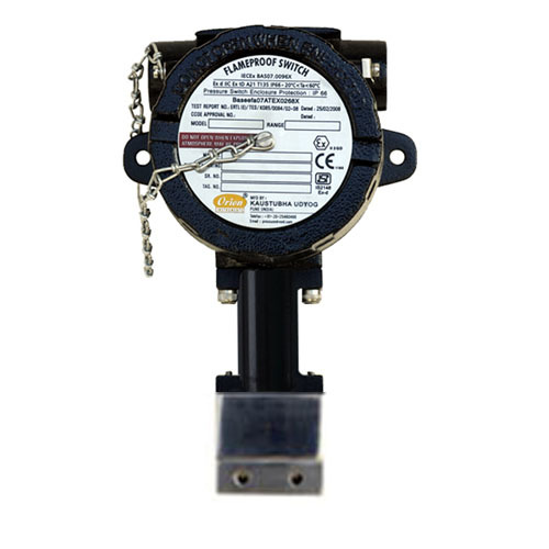 Flameproof High Range Differential Pressure Switch FC series