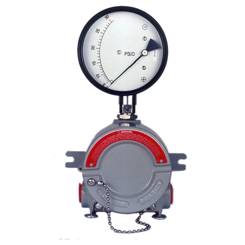 Differential Pressure Gauge with Switch - Flameproof version