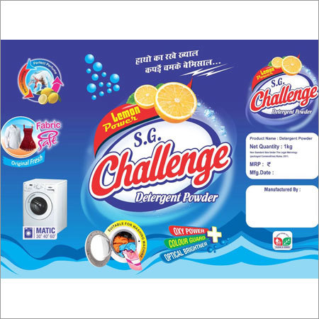 Wash Detergent Powder